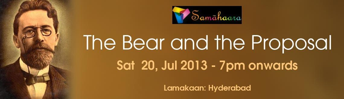 Samahaara Presents - The Bear