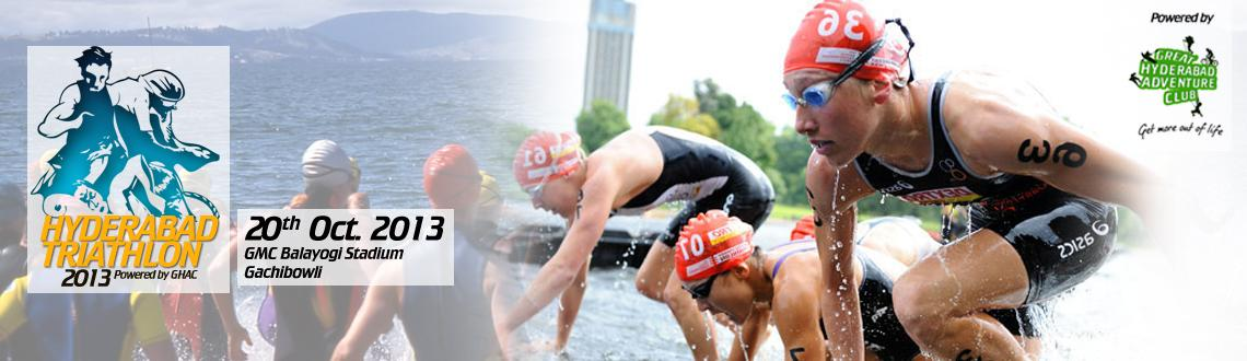 Triathlon 2013 is a multi-sport event involving the completion of three continuous and sequential endurance events.which consists of swimming and cycl