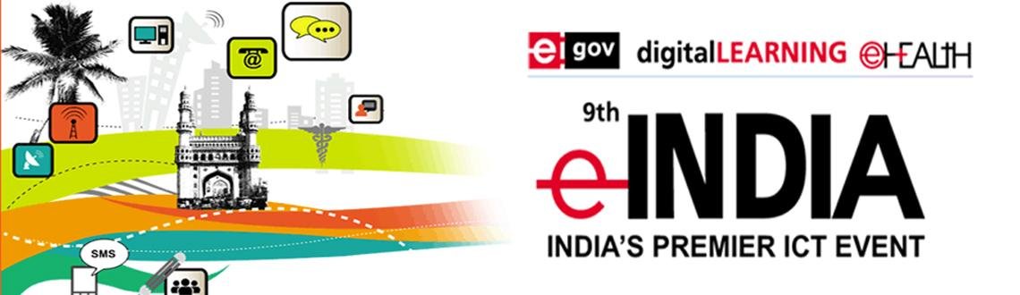 Book Online Tickets for eINDIA Exhibition, Hyderabad. eINDIA ranks as the largest information and communication technology-related trade fair in the country. The show serves as a convenient platform for leading professionals to directly interact with each other and exchange the latest news, views and pe