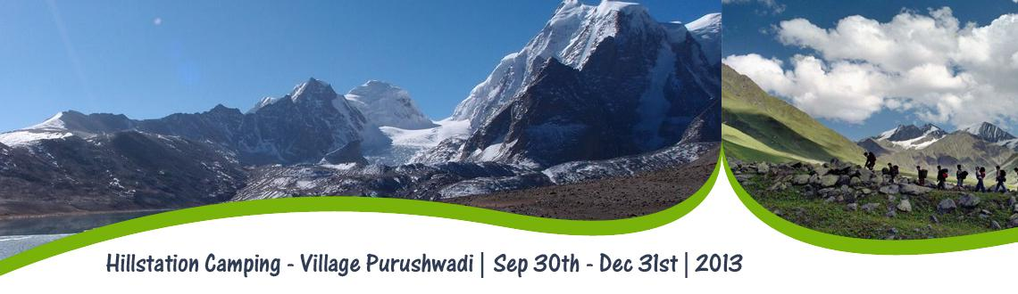 Hillstation Camping at Village Purushwadi.