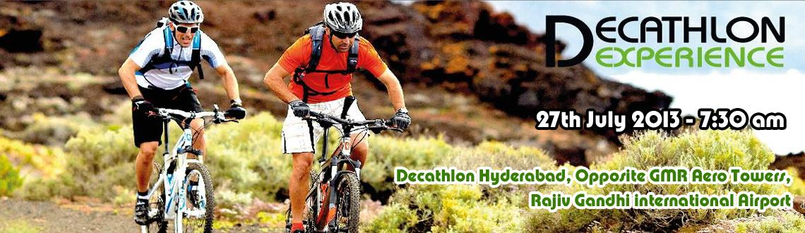 Decathlon Experience - Opening Day Cycling Experience