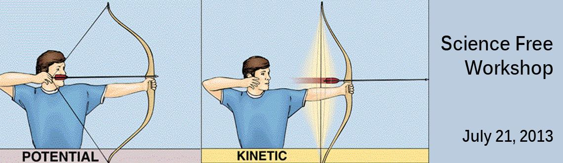 Book Online Tickets for Science Free Workshop, Chennai. Science Free Workshop on July 21 2013 @ Velachery, Chennai Topic -- Potential & Kinetic Energy Activity - Catapult / Pull Back Car Duration -- 1.5 hrs Date -- 21-July-2013 Time -- 9.30 a.m to 11.00 a.m Age -- Children of age 7 to 12Fees --