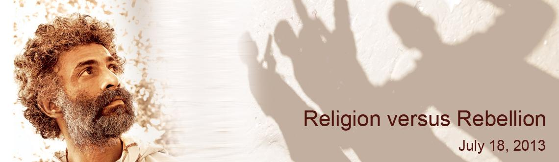 Book Online Tickets for Religion versus Rebellion, Mumbai. Religion versus Rebellion  Theatre veteran Makrand Deshpande will stage his critically acclaimed play Joke after a long hiatus. The title of the play has a sardonic connotation. It reflects on certain religious practices that the society foll