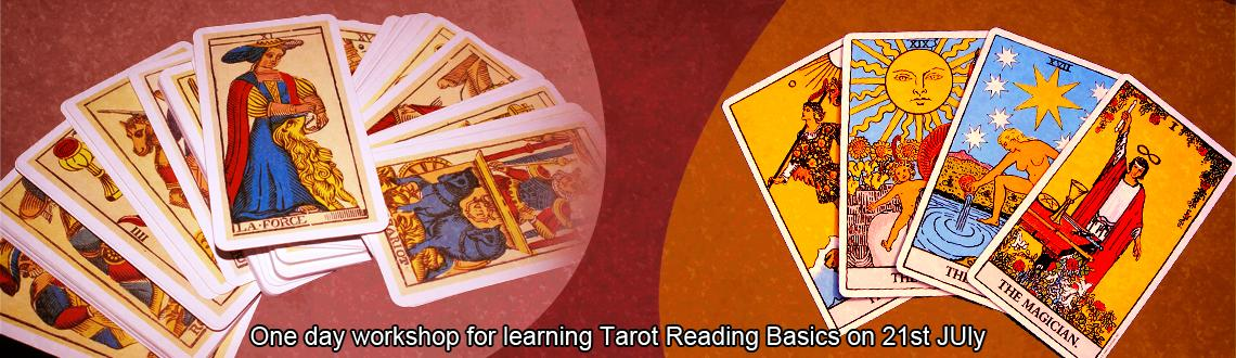 One day workshop for learning Tarot Reading Basics on 21st JUly