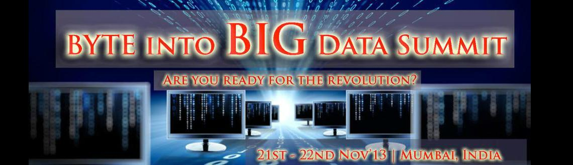 Big Data Summit in Mumbai, Big data technologies describe a new generation of technologies and architectures