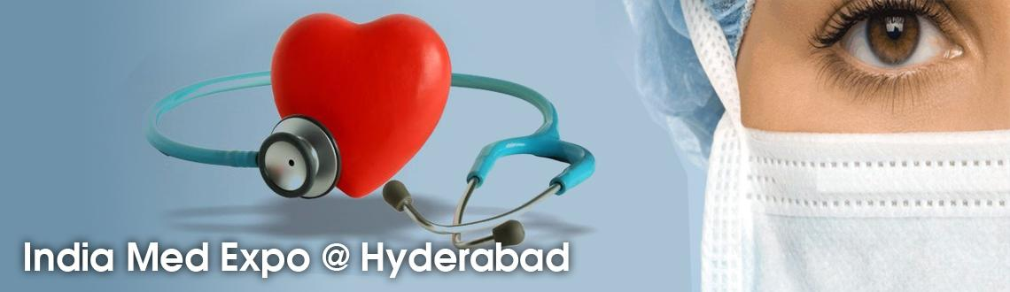 Book Online Tickets for India Med Expo @ Hyderabad, Hyderabad. India Med Expo will be a three day event and will be held in Hyderabad. Conferences, seminars, product launches and networking opportunities will be some of the highlights of this event. The participants of this event will have the opportunity to sho