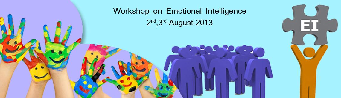 Book Online Tickets for Workshop on Emotional Intelligence on 2n, Pune. Quantum Infotrainers and Consultants Pvt Ltd  Presents A Two Days Workshop on Emotional Intelligence  Pune: August 2-3, 2013 QICPL (Quantum