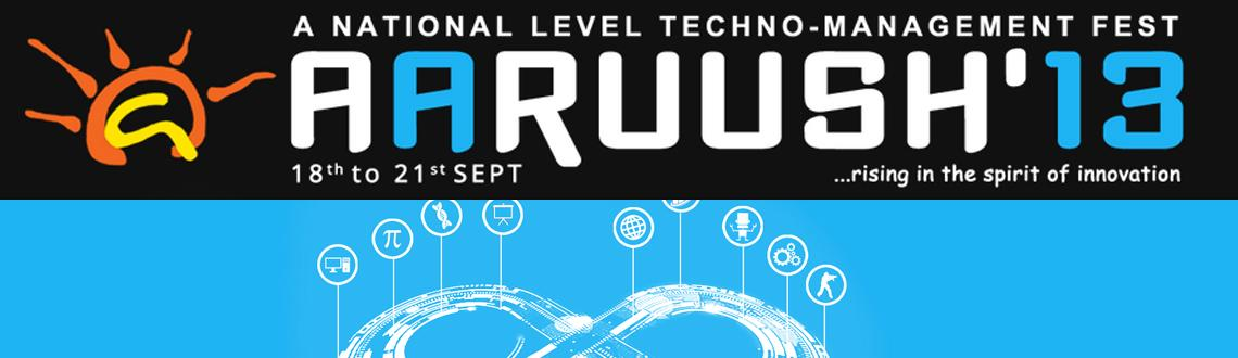 """Book Online Tickets for Aaruush 2013, Chennai. """"Seek and you shall find, when you feel everything is lost, innovation will guide you through"""". Taking cue from these words by our former President, Dr. APJ Abdul Kalam, SRM University's National Level Techno-Management Fest, Aaruu"""