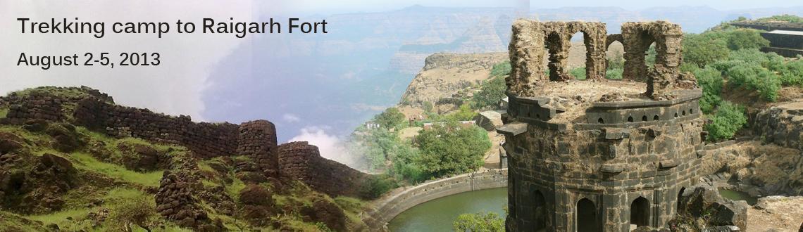 Trekking camp to Raigarh Fort in Maharashtra