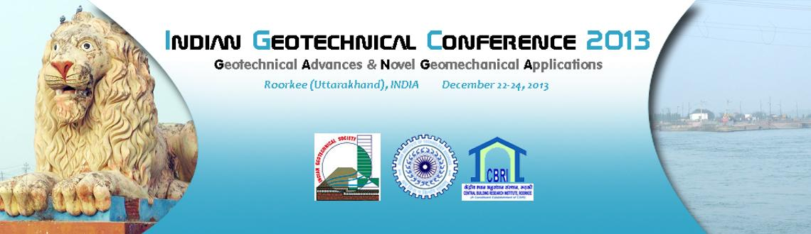 Book Online Tickets for International Geotechnical Conference , Roorke. International Geotechnical Conference is not just a conference, as this platform will ensure insightful knowledge on numerous technical issues connected to modern Geotechnical problems. A proper investigation on geological, geotechnical as well as ge