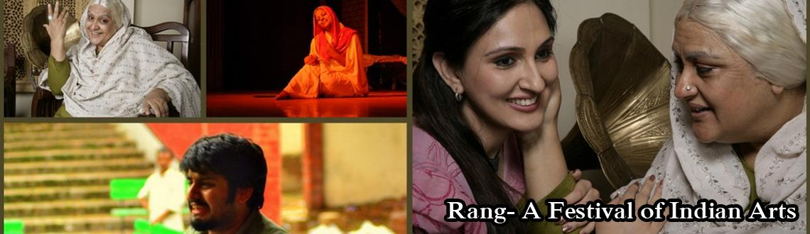 Rang- A Festival of Indian Arts