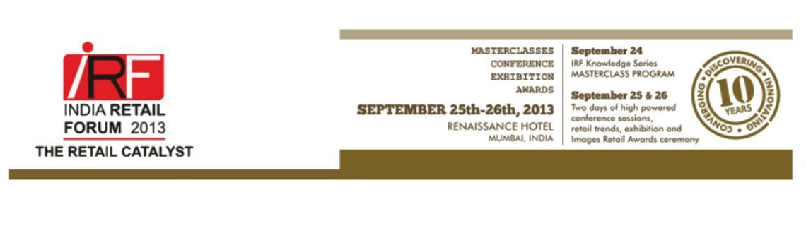 India Retail Forum 2013