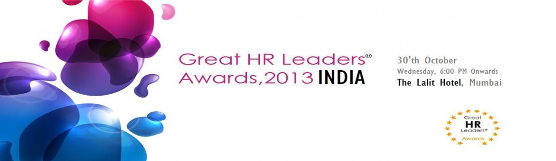HR Awards, Great HR Leaders Global HR Awards - 2013, Nomination Open