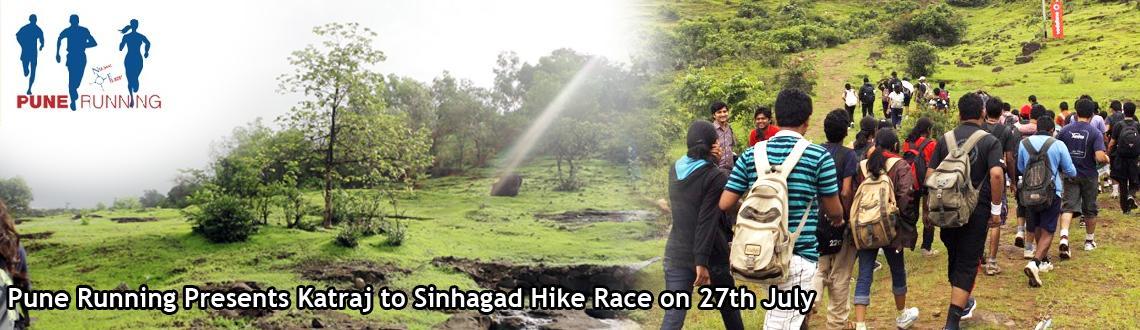 Pune Running Presents Katraj to Sinhagad Hike Race on 27th July