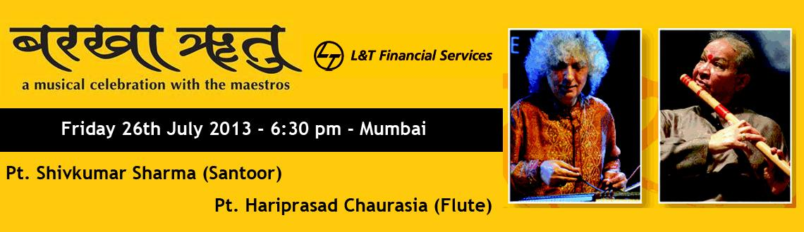 Book Online Tickets for Barkha Ritu - AMusical Celebration with , Mumbai.