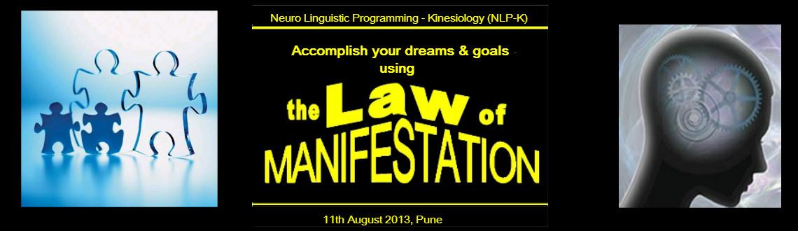 "The Law of Manifestation"" by Krish Srikanth, Pune"