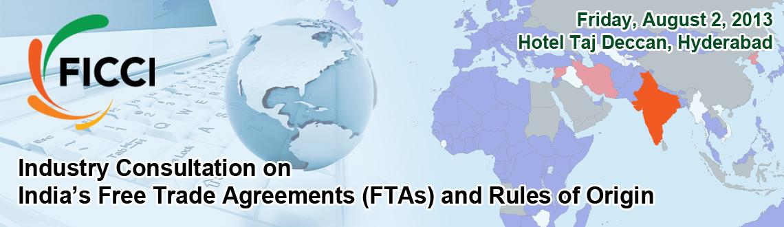 India Free Trade Agreements and Rules of Origin