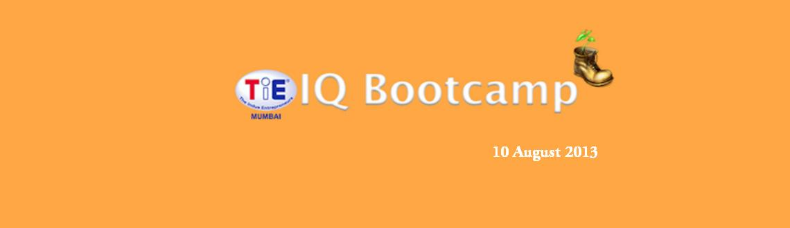 Book Online Tickets for TiE-IQ Bootcamp, Mumbai. . TiE-IQ Bootcamp                                                    TiE-IQ Bootcamp is a no contract and free 60-day bootcamp where the participating startups will have an opportunity to create prod