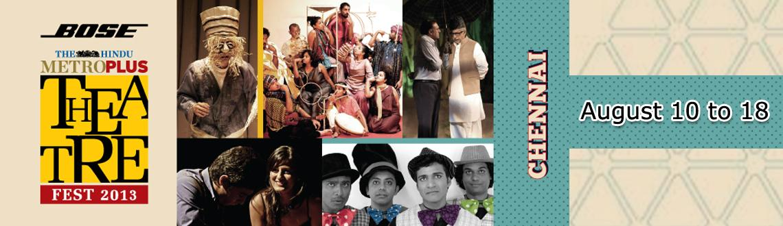Book Online Tickets for Circus - MetroPlus Theater Fest , Chennai. Circus - MetroPlus Theater Fest  Inspired by the Charlie Chaplin movie of the same name, 'Circus' takes on present day Chaplin who arrives to Chennai searching for a job. Mistaking him for another person, the police chase him from