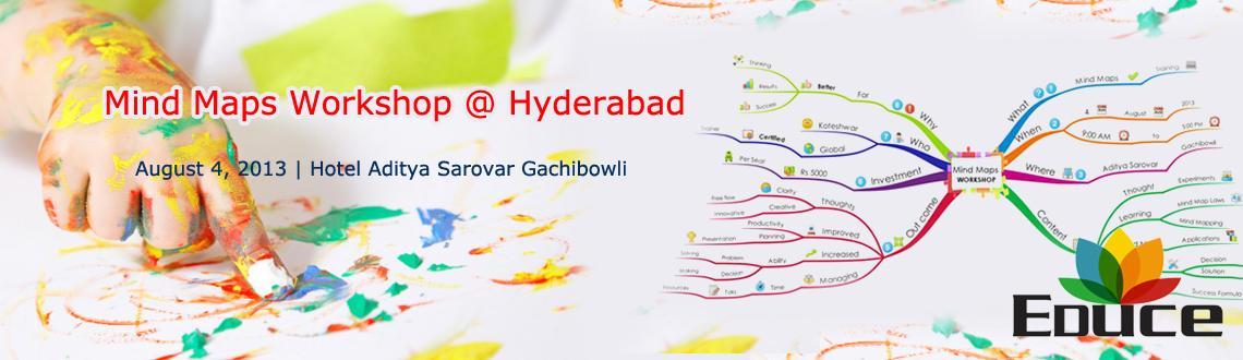 Mind Maps Workshop @ Hyderabad