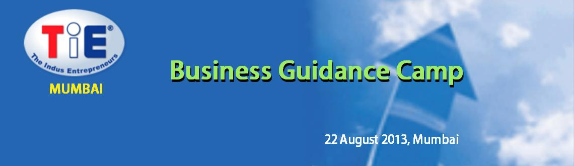 Book Online Tickets for Business Guidance Camp (22 August, Mumba, Mumbai. 