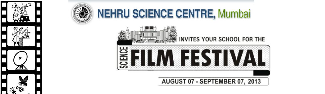 Book Online Tickets for Science Film Festival, Mumbai.