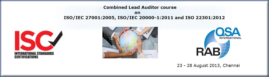 Book Online Tickets for ISO/IEC 27001:2005, ISO/IEC 20000-1:2011, Chennai. 