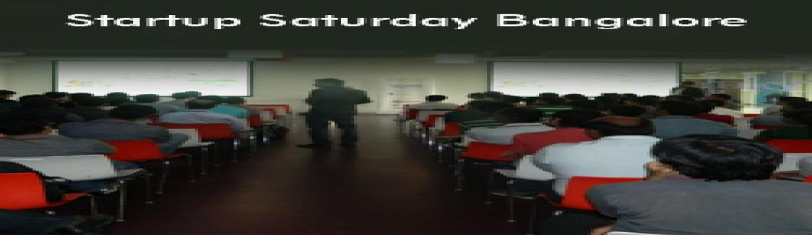 Book Online Tickets for Startup Saturday Bangalore, Bengaluru.