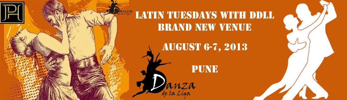 Latin Tuesdays with DDLL - BRAND NEW VENUE