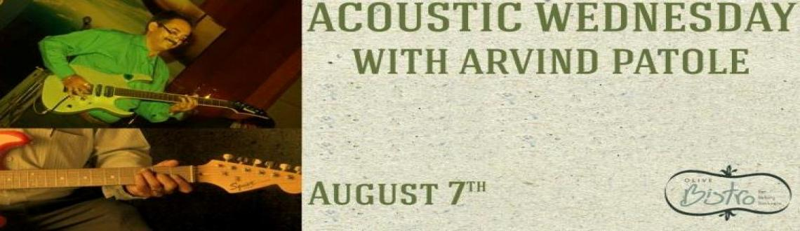 Acoustic Wednesdays with the timeless Arvind Patole