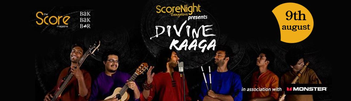Book Online Tickets for Divine Raaga on Score Night, Bengaluru. 
