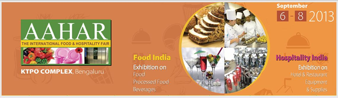 Book Online Tickets for Aahar – The International Food & , Bengaluru. India Trade Promotion Organisation (ITPO) a Govt. of India Enterprise under Ministry of Commerce is organising Trade Fairs in India and abroad. We are happy to inform you that ITPO is planning to organise the regional edition of our flagship event Aa