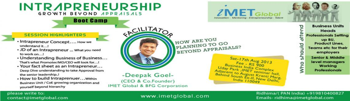 Intrapreneurship- Growth Beyond Appraisals