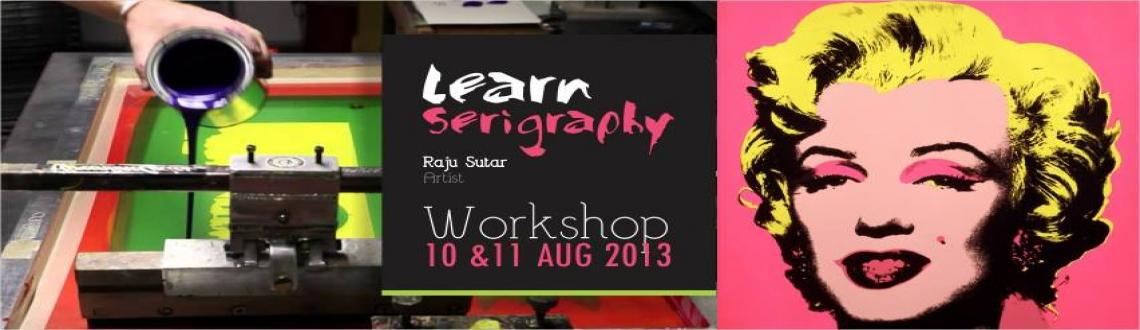 Book Online Tickets for Workshop on Serigraphy By Artist Raju Su, Pune. Amrapali Art Centre is an initiative to help promote visual art and artists, to create community studio facilities, to generate opportunities for public art and create awareness about art in general.Serigraphy is a stencil method of printmaking in wh