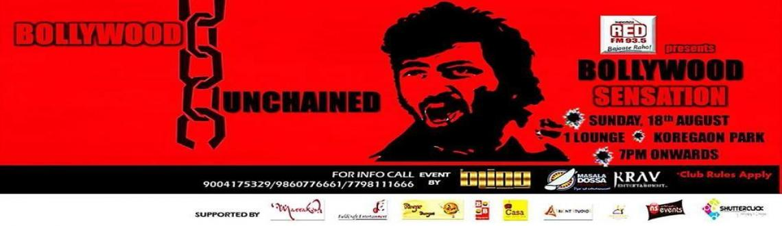 Book Online Tickets for Bollywood Unchained on 18th Aug, Pune. On SUNDAY, 18th August..Bollywood will be UNCHAINED!93.5 RED FM presentsBOLLYWOOD SENSATIONPune\\\'s best DJs & emcee will come together to give you Bollywood Super Hits Back 2 Back...RED FM Style!