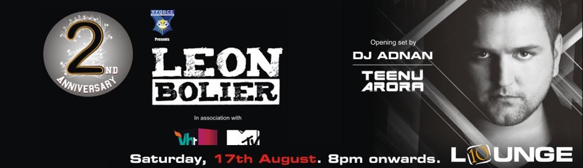 10 Lounge 2nd Anniversary Celebrations with DJ Leaon Bolier
