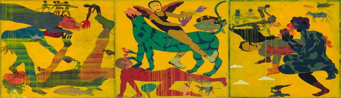Exhibition of Recent Works 2013 by Mahmud Husain Laskar