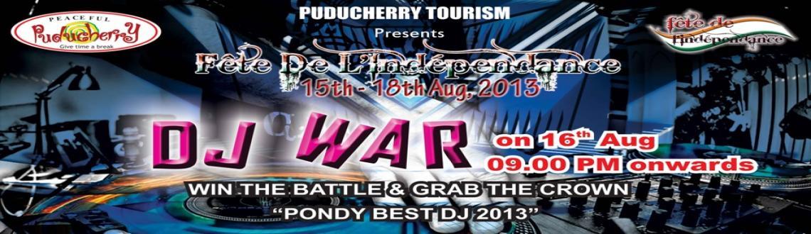 Book Online Tickets for DJ War, Pondicherr.