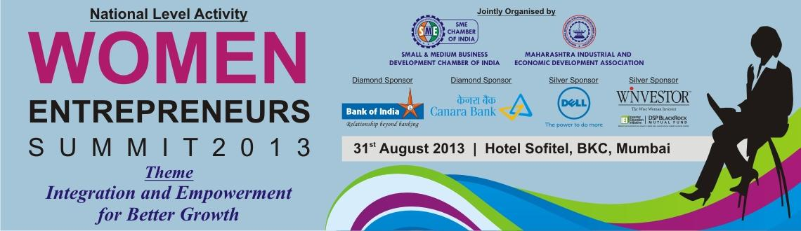 Book Online Tickets for Women Entrepreneurs Summit 2013, Mumbai.