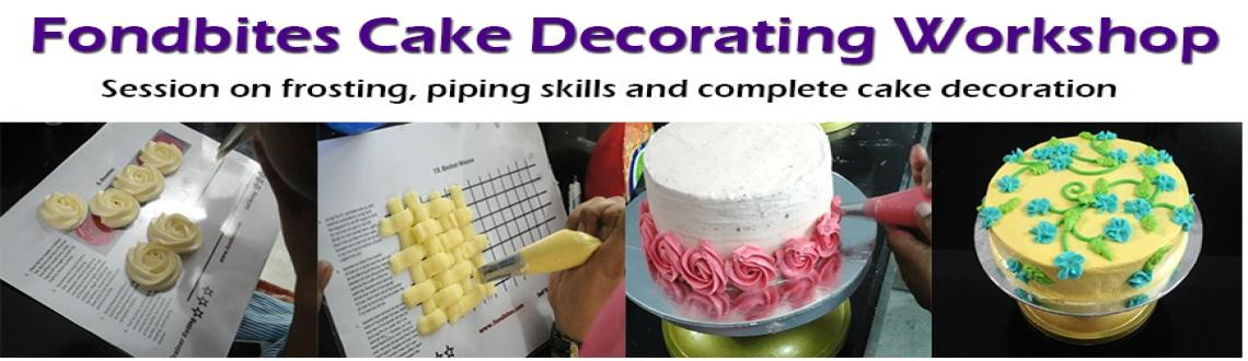 Fondbites Cake Decorating Workshop