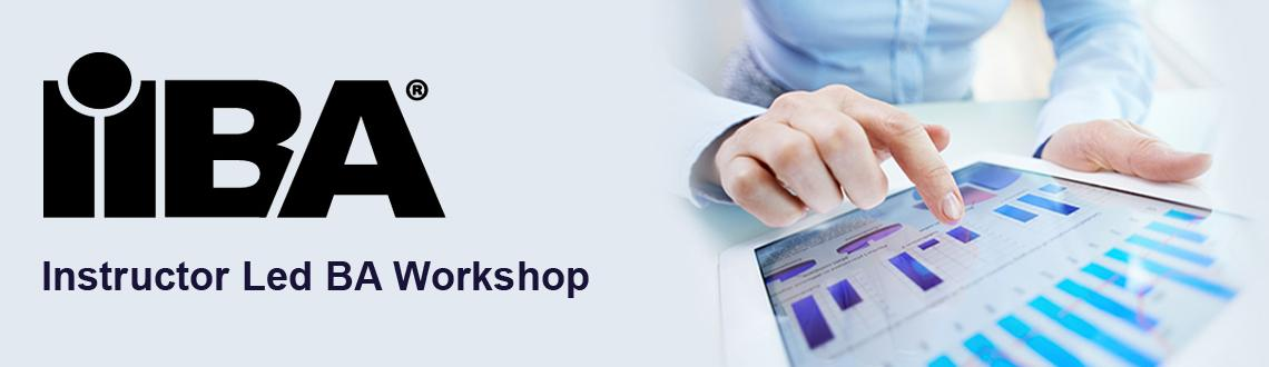 Online Instructor Led IIBA Endorsed BA Workshop
