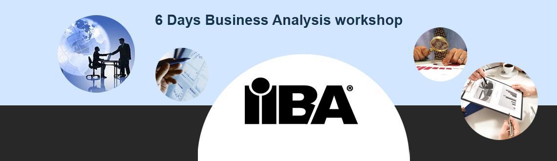 6 Days IIBA Endorsed Business Analysis workshop in Bangalore