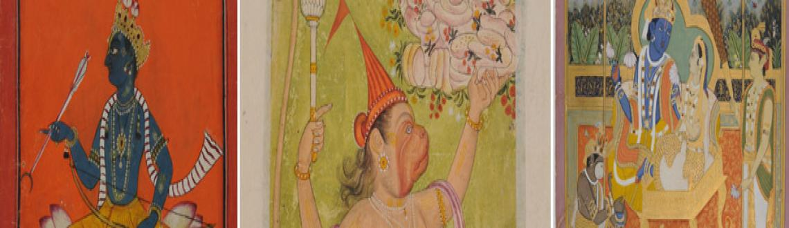 Book Online Tickets for Rama-Katha: The Story of Rama through In, NewDelhi. Special Exhibition Gallery (First Floor), National Museum, New Delhi invites you to \\'Rama-Katha: The Story of Rama through Indian Miniatures\\' an exhibition of miniature paintings.