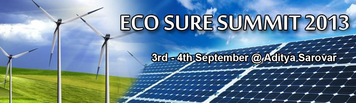 Eco Sure 2013 in Hyderabad, with association of NREDCAP is conducting Two Days Seminar on 03rd & 04th September 2013 at Hyderabad