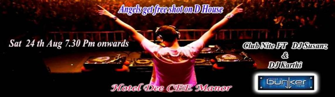 Book Online Tickets for Club Nite @ Bunker, Chennai. Club Nite  @  Bunker  Hotel Dee Cee Manor  ft.DJ Susanz  DJ karthy  Spinning the best of Bollywood to Hollywood