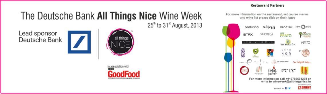 All Things Nice Wine Week