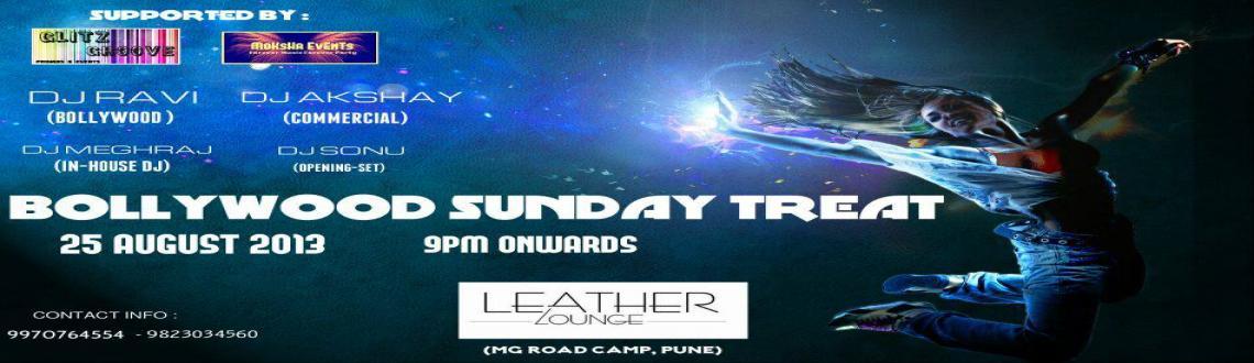 ●๋•●๋ Sunday Bollywood Treat ●๋•●๋ |25 AUG\'|9pm Onwards| Leather Lounge, MG Road, Camp