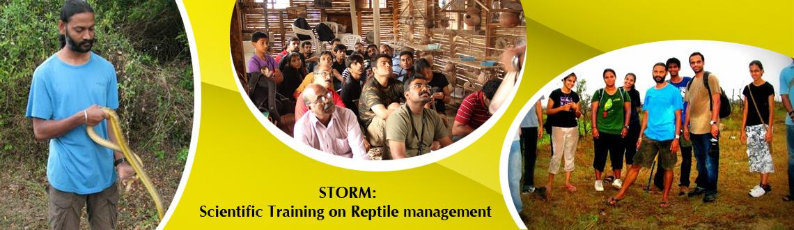 Book Online Tickets for STORM - Scientific Training on Reptile M, Mysore. STORM - Scientific Training on Reptile Management.