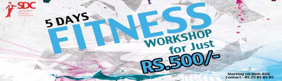 Book Online Tickets for 5 Days Fitness Workshop, Chennai. 5 days Fitness workshop @ SDC (Vepery Studio) from Monday to Friday which includes ZUMBA FITNESS, POWER YOGA & AEROBICS each of 2 sessions.