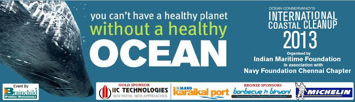 Book Online Tickets for A Movement for Trash Free Seas: Internat, Chennai. Indian Maritime Foundation along with Ocean Conservancy USA, over the years has been bringing together passionate ocean lovers and helping them contribute to a vision for trash free seas.